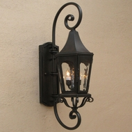 Lighting Innovations DB8002 Outdoor 10 Wide x 37.3 Tall Wall Lighting Sconce