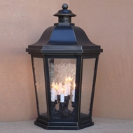 Lighting Innovations FPM1465 Traditional Outdoor 18  Wide x 28.8  Tall Pier Mount