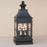 Lighting Innovations FPM2042 Outdoor 7.5  Wide x 19.8  Tall Pier Mount