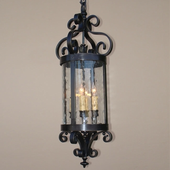 Lighting Innovations H10066 Exterior 25 Wide x 57.5 Tall Pendant Lamp