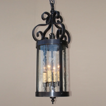 Lighting Innovations H10070 Outdoor 8 Wide x 17.3 Tall Hanging Lamp