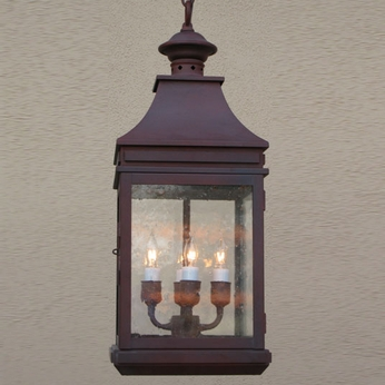 Lighting Innovations H1130 Outdoor 5.6 Wide x 14.6 Tall Hanging Light