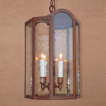 Lighting Innovations H1663 Outdoor 9 Wide x 17.8 Tall Ceiling Light Pendant