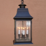 Lighting Innovations H2434 Outdoor 10 Wide x 23.3 Tall Ceiling Light Pendant