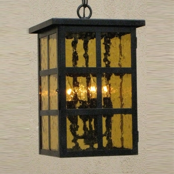 Lighting Innovations H4841 Outdoor 7 Wide x 10.8 Tall Ceiling Light Pendant