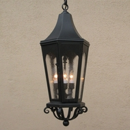 Lighting Innovations H8111 Exterior 8  Wide x 20.3  Tall Pendant Lighting