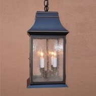 Lighting Innovations H9434 Outdoor 10  Wide x 21  Tall Hanging Pendant Lighting