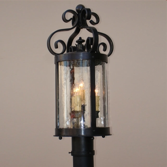 Lighting Innovations P10090 Outdoor 8 Wide x 19 Tall Post Lamp