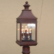 Lighting Innovations P1141 Exterior 6.9  Wide x 19.6  Tall Post Lighting Fixture