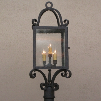 Lighting Innovations P1369 Exterior 11.9 Wide x 30.8 Tall Post Lamp