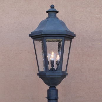 Lighting Innovations P1451 Traditional Exterior 8.5 Wide x 20 Tall Post Lighting