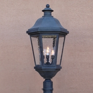 Lighting Innovations P1453 Traditional Exterior 14  Wide x 28.5  Tall Lamp Post Light