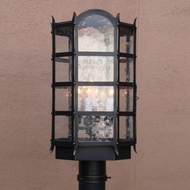 Lighting Innovations P1571 Outdoor 6.9  Wide x 14.9  Tall Post Lighting Fixture