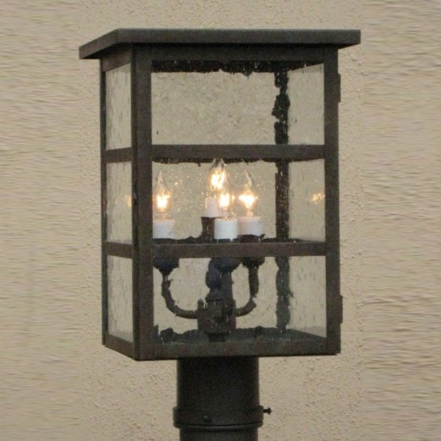 Lighting Innovations P4560 Exterior 5 Wide X 9 8 Tall Post Light Fixture