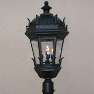 Lighting Innovations P5861 Traditional Outdoor 9 Wide x 20.8 Tall Lamp Post Light Fixture