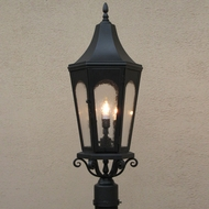 Lighting Innovations PF8082 Outdoor 10 Wide x 28 Tall Post Lamp