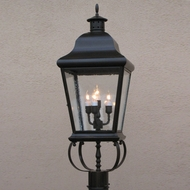 Lighting Innovations PSM5982 Exterior 8.5 Wide x 26.3 Tall Post Lamp
