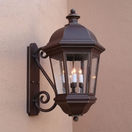 Lighting Innovations S1721 Outdoor 9 Wide x 17.1 Tall Wall Mounted Lamp