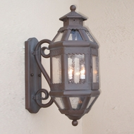 Lighting Innovations S9023 Outdoor 11.6 Wide x 27.8 Tall Wall Lighting Sconce