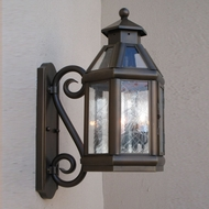 Lighting Innovations SBP9145 Outdoor 7.3 Wide x 11.4 Tall Wall Lamp