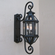 Lighting Innovations SS9105 Outdoor 7.3 Wide x 20.6 Tall Lamp Sconce