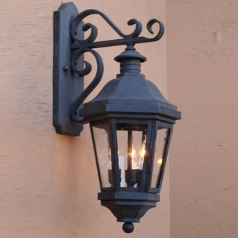 Lighting Innovations TB1413 Traditional Exterior 14 Wide x 32.6 Tall Lighting Wall Sconce