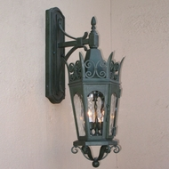 Lighting Innovations TC7052 Traditional Exterior 11.5 Wide x 31.8 Tall Wall Lamp