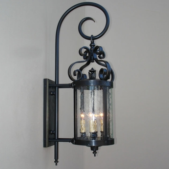 Lighting Innovations TH10025 Outdoor 20.5 Wide x 60.5 Tall Lamp Sconce