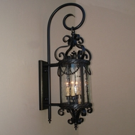 Lighting Innovations TH11001 Exterior 10.5 Wide x 33.8 Tall Wall Sconce