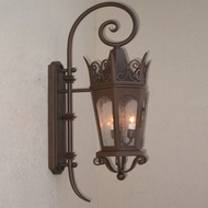 Lighting Innovations TH7033 Traditional Outdoor 14.5 Wide x 39.8 Tall Wall Light Sconce