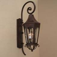 Lighting Innovations TH8031 Outdoor 8 Wide x 28.5 Tall Wall Lamp