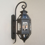 Lighting Innovations TH9001 Exterior 7.3 Wide x 18.6 Tall Wall Sconce Light