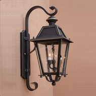 Lighting Innovations TH9302 Outdoor 10 Wide x 24.3 Tall Wall Sconce Light