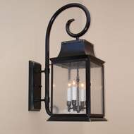 Lighting Innovations TH9513 Outdoor 12.1 Wide x 31.5 Tall Wall Light Sconce