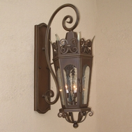 Lighting Innovations TS7023 Traditional Exterior 14.5 Wide x 35 Tall Wall Lighting Sconce