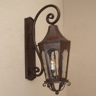 Lighting Innovations TS8023 Exterior 12 Wide x 28 Tall Wall Sconce