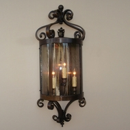 Lighting Innovations WB10040 Exterior 7.3 Wide x 19.3 Tall Wall Light Sconce