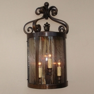 Lighting Innovations WB10053 Exterior 13.8 Wide x 24.8 Tall Lamp Sconce