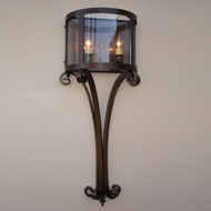 Lighting Innovations WB10122 Outdoor 13.8 Wide x 33.5 Tall Wall Lighting Sconce