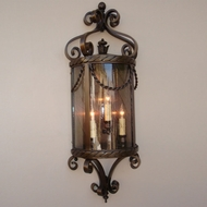 Lighting Innovations WB11043 Exterior 13.8 Wide x 31.8 Tall Wall Light Sconce
