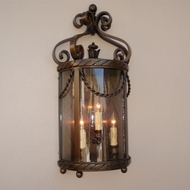 Lighting Innovations WB11050 Exterior 7.3 Wide x 14.8 Tall Wall Light Sconce