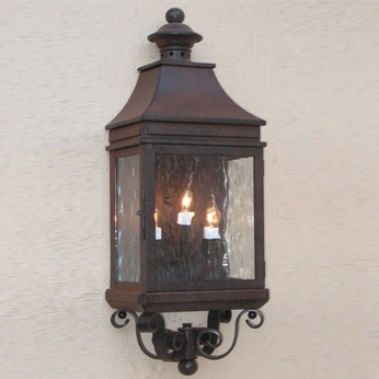 Lighting Innovations WB1153 Exterior 8.9 Wide x 26.8 Tall Lamp Sconce
