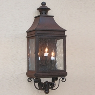 Lighting Innovations WB1154 Outdoor 10 Wide x 31 Tall Wall Sconce Lighting