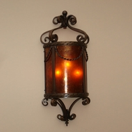 Lighting Innovations WB12058 9.8 Wide x 23.8 Tall Wall Light Sconce