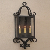 Lighting Innovations WB1319 Exterior 7.3 Wide x 19 Tall Wall Lamp