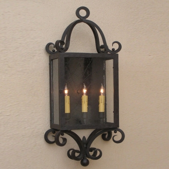 Lighting Innovations WB1323 Exterior 15.6 Wide x 37.3 Tall Lighting Sconce