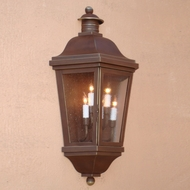Lighting Innovations WB1435 Traditional Exterior 18 Wide x 33.5 Tall Light Sconce