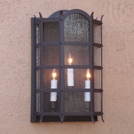 Lighting Innovations WB1581 Outdoor 7.3 Wide x 11.4 Tall Wall Sconce Light