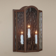 Lighting Innovations WB1681 Outdoor 7.3 Wide x 10.9 Tall Wall Sconce Lighting