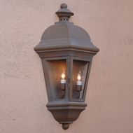 Lighting Innovations WB1754 Outdoor 15 Wide x 27.3 Tall Wall Mounted Lamp